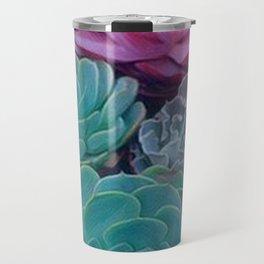 Succulents 2 Travel Mug