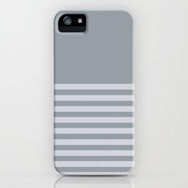 Horizon All Grey iPhone Case