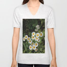 Nothing is Coming Up Daisies Unisex V-Neck