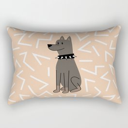 The Doberman Rectangular Pillow