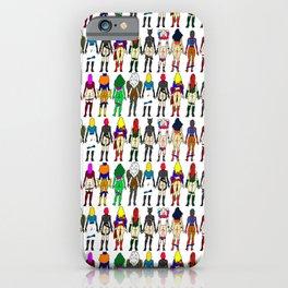 Superhero Butts - Girls - Row Version - Superheroine iPhone Case