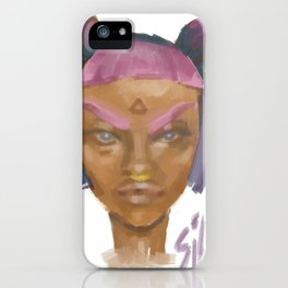 Sick Girl iPhone Case
