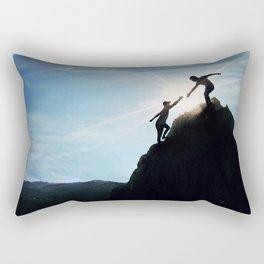 hand of help Rectangular Pillow