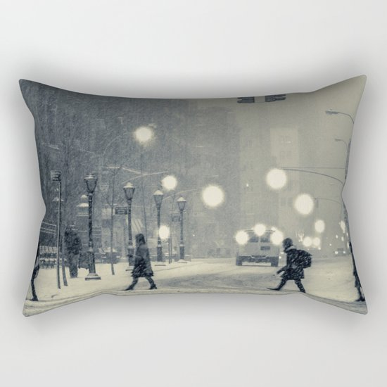 Snow City Rectangular Pillow