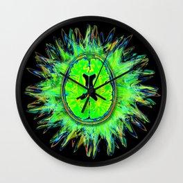 Brain storm Wall Clock