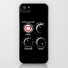 Amplify your love- Music-Guitar-Rock,Blues,Pop,Metal,Jazz,Orchestra iPhone Case