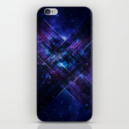 Cosmic Interference iPhone Skin