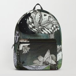 The Garden of Forgotten Happiness diorama Backpack