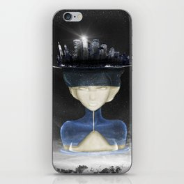 Lady Of the Night iPhone Skin