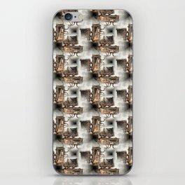 Battery Mishler Power Hoist lower section pattern iPhone Skin