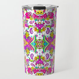 Lightning Hits Rainbow Travel Mug