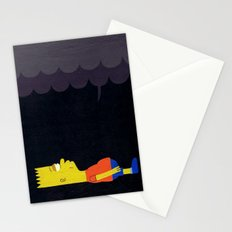 Waiting to Die Stationery Cards