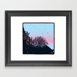 Ready for the summer! Framed Art Print