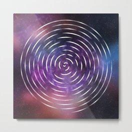Galactic spin Metal Print