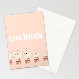 cats and nutella 314 Stationery Cards