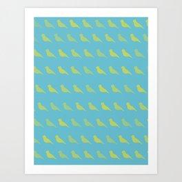 Bird PoP Art Print