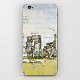 Stonehenge, England iPhone Skin