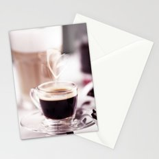 Coffee with heart Stationery Cards