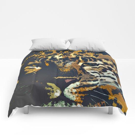 Leopard Comforters