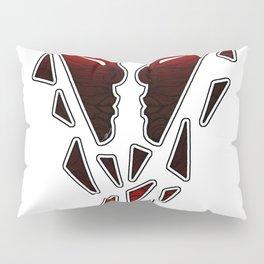 Strange Faces II - Your Face (white version) Pillow Sham
