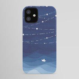 Garland of Stars IV, night sky iPhone Case