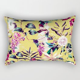 Colorful vibrant bloom Rectangular Pillow