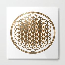 sempiternal logo gold Metal Print