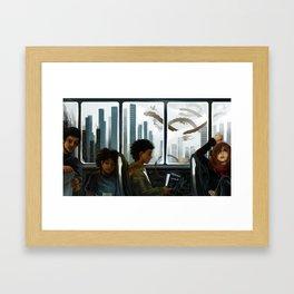 Imaginary Skyline Framed Art Print