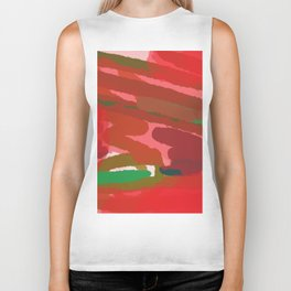Red Session 4 - Reds and Greens Biker Tank