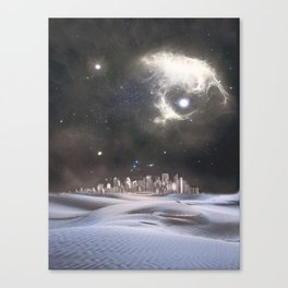 desert city Canvas Print