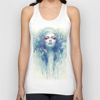 oil Tank Tops featuring Oil by Anna Dittmann