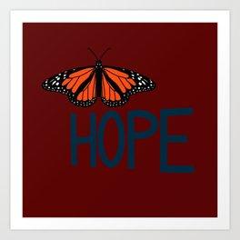 hope soars Art Print