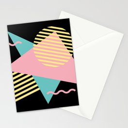 Memphis Pattern 28 / 80s - 90s Retro Stationery Cards