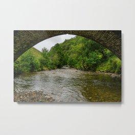 Under the Bridge and Down the Creek Metal Print