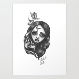 The Lost Doll Art Print