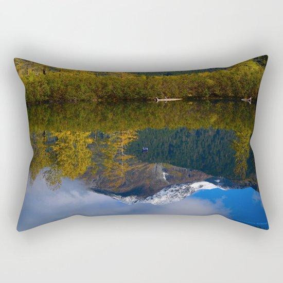 Fall Reflection - Alaska Rectangular Pillow