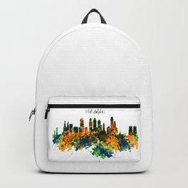Philadelphia Watercolor Skyline Backpack