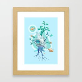 The Metamorphosis Party II Framed Art Print