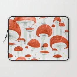 Mycelium Fruiting Bodies by Friztin © 2017 Laptop Sleeve