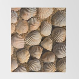 The World of Shells Throw Blanket