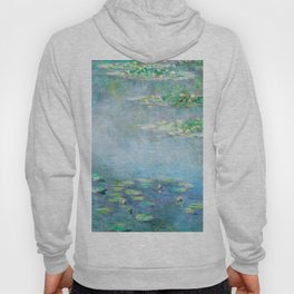 Monet Water Lilies / Nymphéas 1906 Hoody