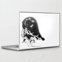 conan Laptop & iPad Skins featuring old ass conan by RandomRobot