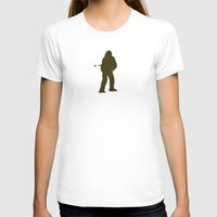 chewbacca T-shirts featuring Chewbacca by Green Bird Press