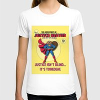 beaver T-shirts featuring Justice Beaver by Alex Dutton