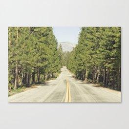 Sierra Nevada Highway Canvas Print