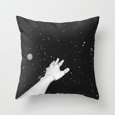Out Of My Comfort Zone Throw Pillow