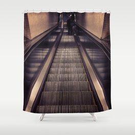 Metal & Chrome  Shower Curtain