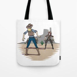 Catfight Tote Bag