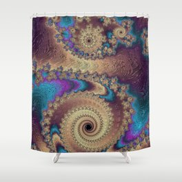 Northern Nights Shower Curtain