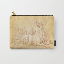 Unicorn Grove - A forest sketch Carry-All Pouch